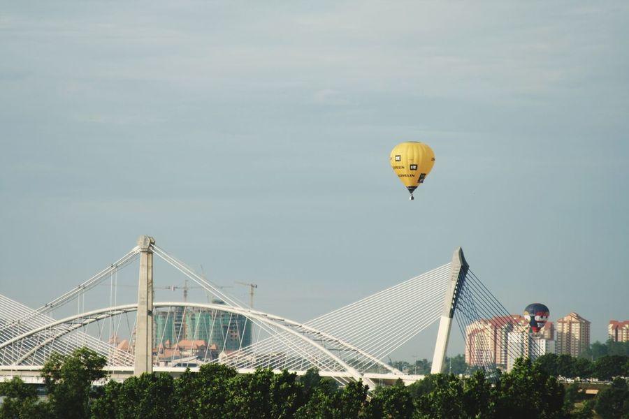 First Putrajaya Hot Air Balloon Fest 2009. The Photojournalist - 2015 EyeEm Awards Amazing Architecture Balloons Putrajaya,malaysia