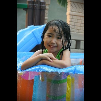 Smile Kids Happy Cute mybest_portrait swimming