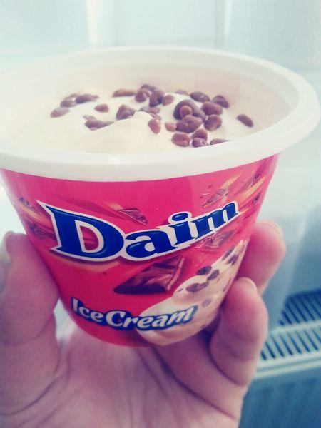 Ice Cream Daim Delicious Food Porn