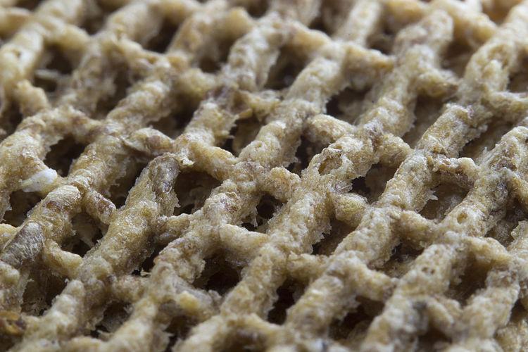 Macro of Malties/Shreddies breakfast cereal. 018/365. Macro Photography Breakfast Cereal Close-up Food And Drink Full Frame Healthy Eating Macro Food Pattern Project365 Ready-to-eat Shreddies