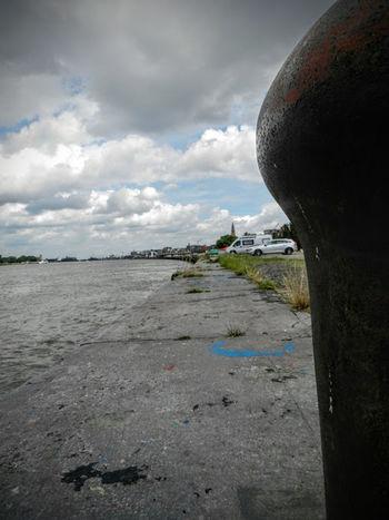 FirstEyeEmPic Belgium Clouds Haven Portofantwerp Riverside Schelde Water First Eyeem Photo