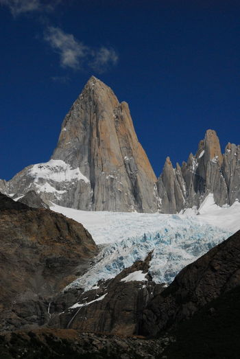 Beauty In Nature Day FitzRoy Patagonia Glacial Iceberg Landscape Mountain Nature No People Outdoors Scenery Sky Snow
