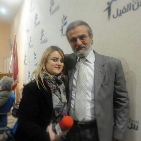 Work Issam al ashkar Actor ALaM al tawasol magazine
