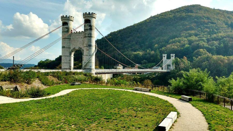 Pont De La Caille France Travel Destinations Outdoors No People Bridges Haute-Savoie