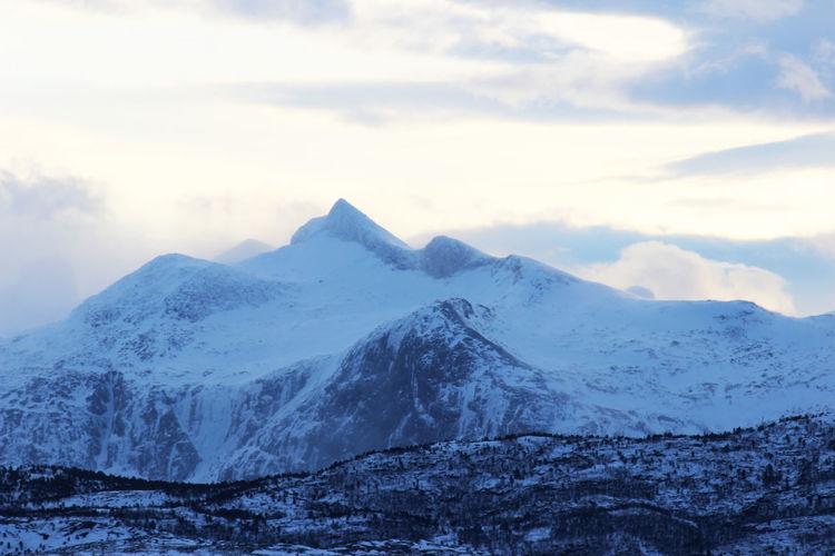 Mountains in Bodø Mountains Mountains And Sky Bodø Norway🇳🇴 Wintertime Rocky Mountains Snow Snowcapped Mountain