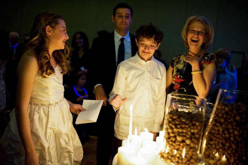 Bar Mitzah Ceem Jewish Rite Of Passage