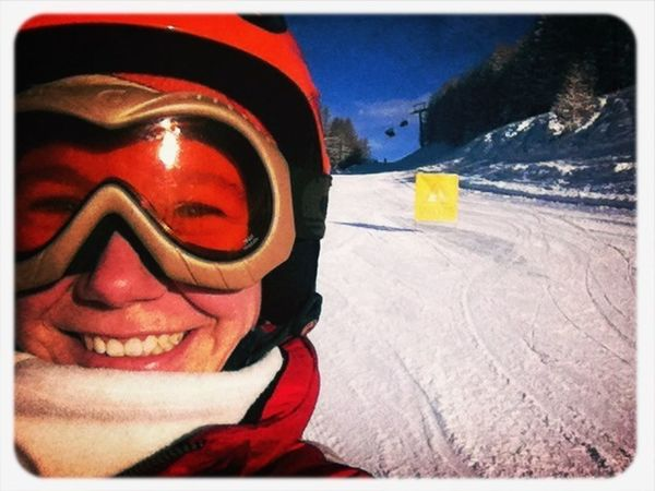 few Things make me happier than a perfect day of #skiing !!! absolute bliss