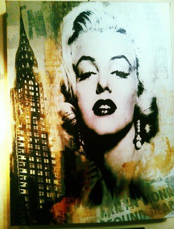 Merlin Monro My Idol Pop Art Holywood Art Picture in my room
