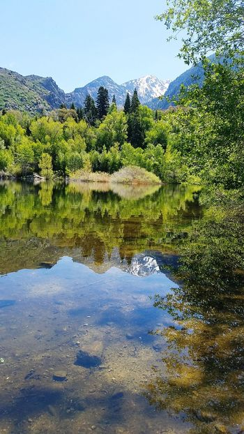 Reflection Water Nature Lake Outdoors Beauty In Nature No People Sky Scenics Summer Outdoor Photography Mirrored Serenity Peace And Quiet Mountain Snowcapped Mountain