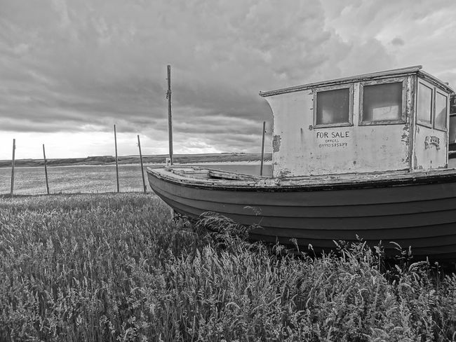 Alone Cruden Bay EyeEm Best Shots EyeEm Nature Lover EyeEm Gallery EyeEmNewHere Lost And Found Abandoned Beach Beauty In Nature Boat Dracula's Castle Eye4photography  For Sale Grass Lonley Lost Places Moored Nature No People Outdoors Scenics Scotland Wild Landscape Sea Water The Week On EyeEm Lost In The Landscape Perspectives On Nature Second Acts Black And White Friday