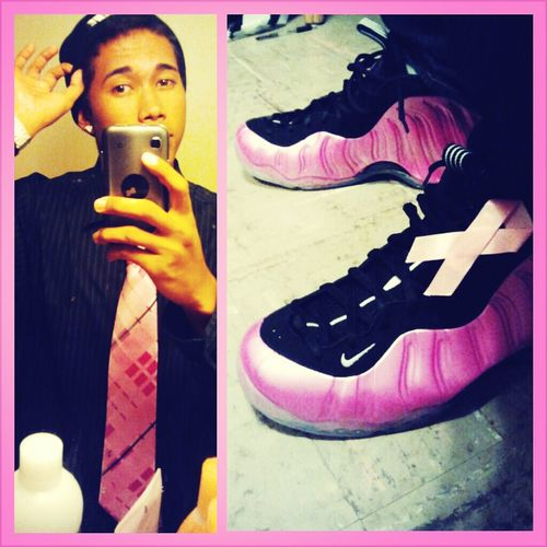 Pledge Allegience To The Class Go Pink Foamposites