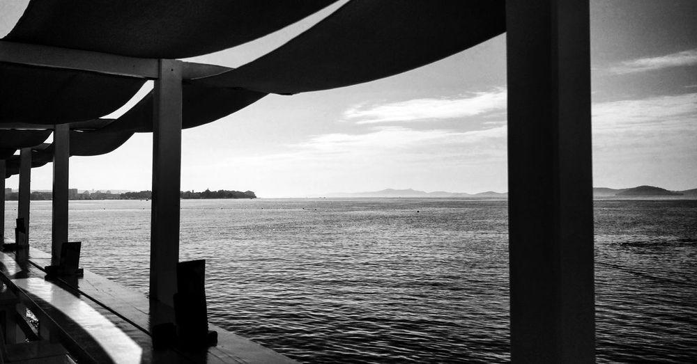 Water Sea Beach Sky Horizon Over Water Cloud - Sky Scenics Tranquil Scene Waterfront Ocean Rippled Idyllic Tranquility Shore