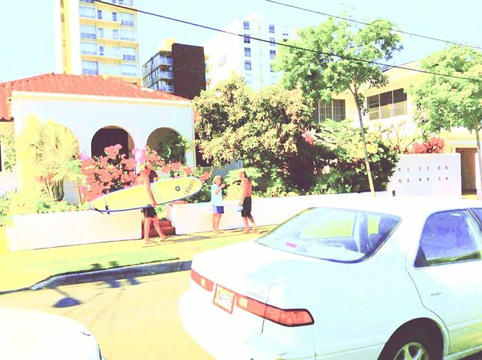 Transportation Land Vehicle City Life Downtown District