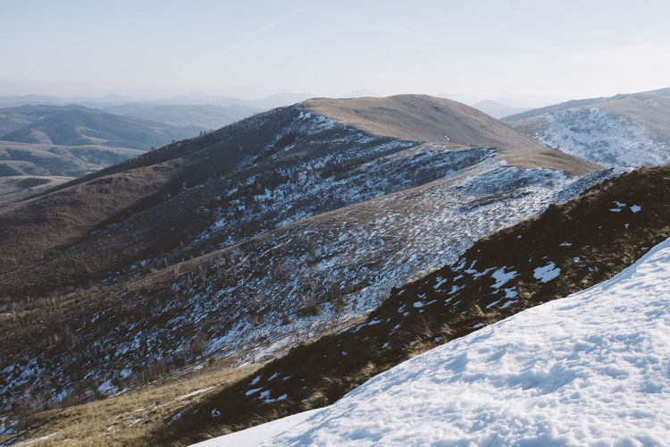 In the Zlatibor mountains, Serbia. Beauty In Nature Day Landscape Mountain Mountain Range Nature No People Outdoors Scenics Sky Snow Tranquility Winter