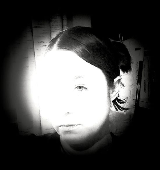 Black & White Portrait That's Me Decode My Vision