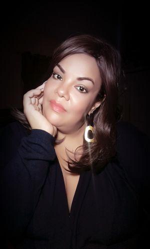 EyeEm Selects Black Background Portrait Beautiful Woman Beauty Young Women Beautiful People Studio Shot Glamour Luxury Headshot
