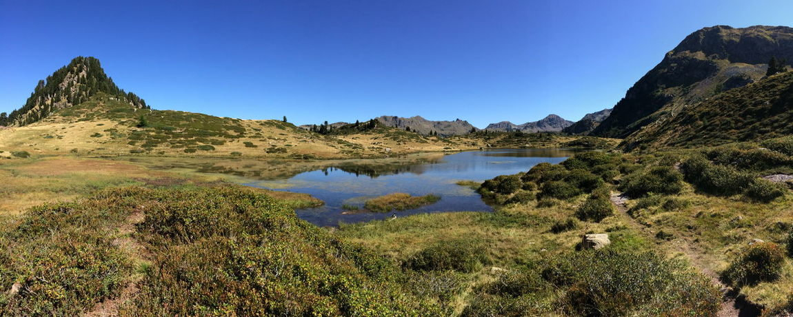 Lago delle Buse. Nature Landscape Lake Mountains