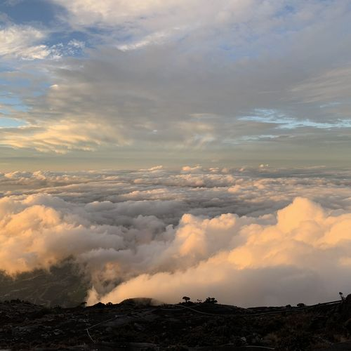 Mount Kinabalu - Above the clouds Sunset Water Mountain Beauty Tree Red Gold Colored Sky Cloud - Sky Landscape