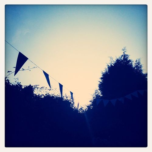 It's been a bunting kind of week...