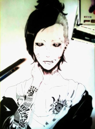 Drawing Drawings Draws Draw Artist Anime Manga Tokyoghoul Uta Ghoul
