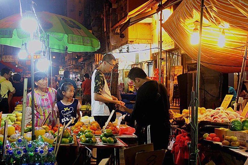 Market Stall HongKong Nigntmarket Traditional Culture