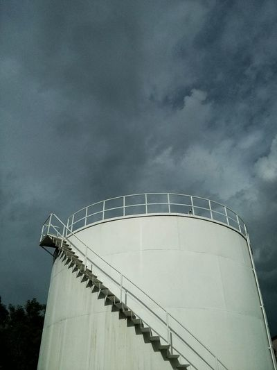 Tank Sky Clouds