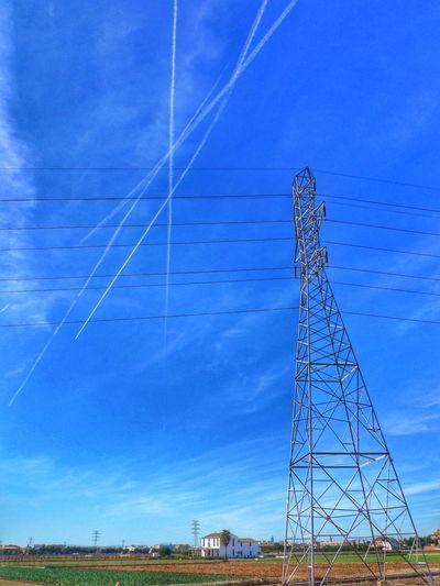 Sun_collection, Sky_collection, Cloudporn, Skyporn Canon PowerShot G1 X Rural Scenes Electric Tower