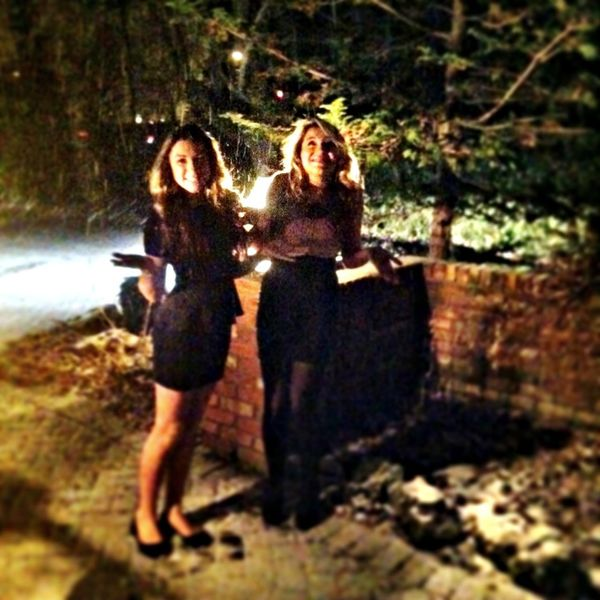 Bad Quality Snowing Throwback Christmas