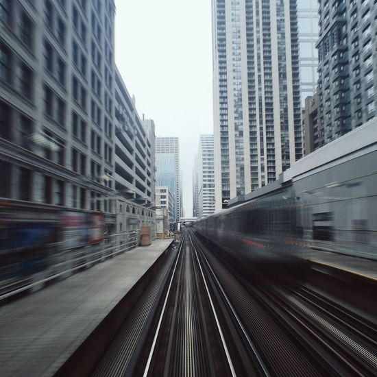 Time travel Chicago | Instagram @cocu_liu Chicago Urban Landscape Urbanexploration Landscape Motion Blur Slow Shutter Exploring Capturing Movement The Architect - 2016 EyeEm Awards