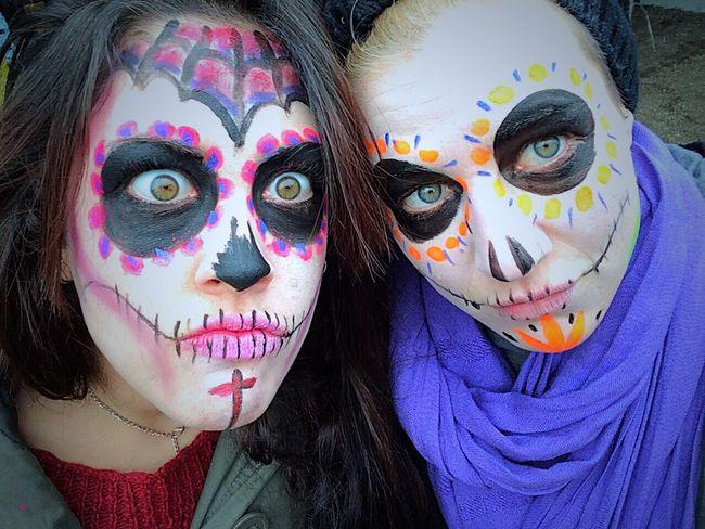 Mexican Skull Carnaval Working ThatsMe Dead Barcelona