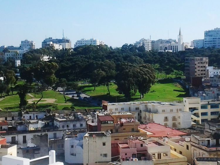 View From Dar Nour Morocco Tangier