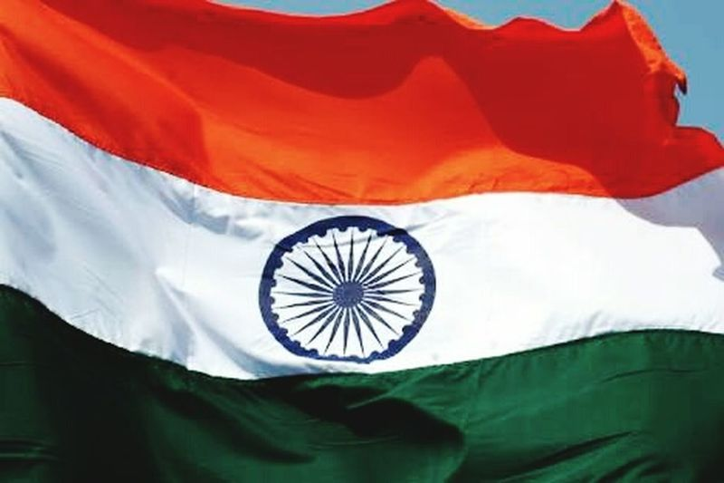 Indian Tricolor Flag Flag Patriotism No People Worlds Largest Democracy Republic Happy Republic Day Of India Feeling Proud! PROUD TO BE INDIAN