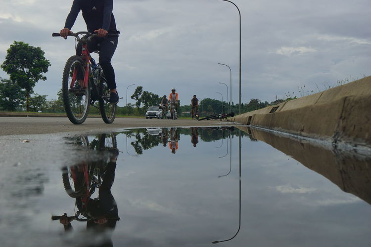 Road biking ...