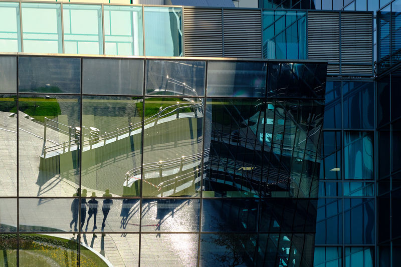 Built Structure Architecture Building Exterior Building Glass - Material Window Modern Reflection Day City Transparent Outdoors Office Office Building Exterior No People Nature Sunlight Glass Walking