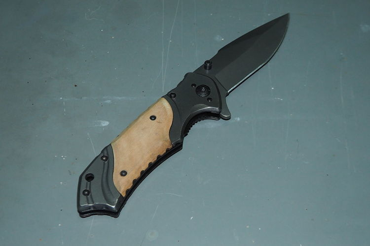 Knife Clasp Knife Close-up Indoors  No People Penknife Pocket Knife Single Object Weapon