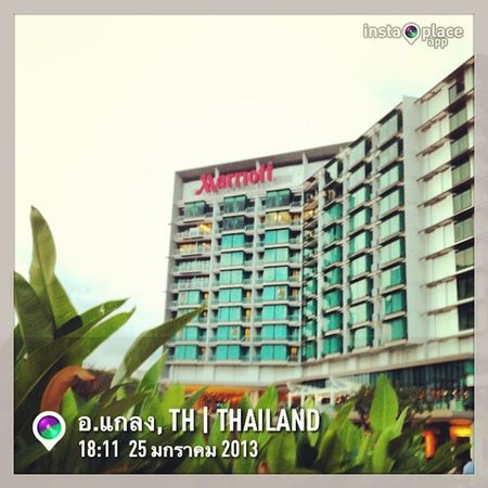 @Marriott Rayong Resort & Spa InstaPlace Instaplaceapp Instagood Photooftheday Instamood Picoftheday Instadaily Photo Instacool Instapic Picture Pic @instaplaceapp Place Earth World Thailand อแกลง Day