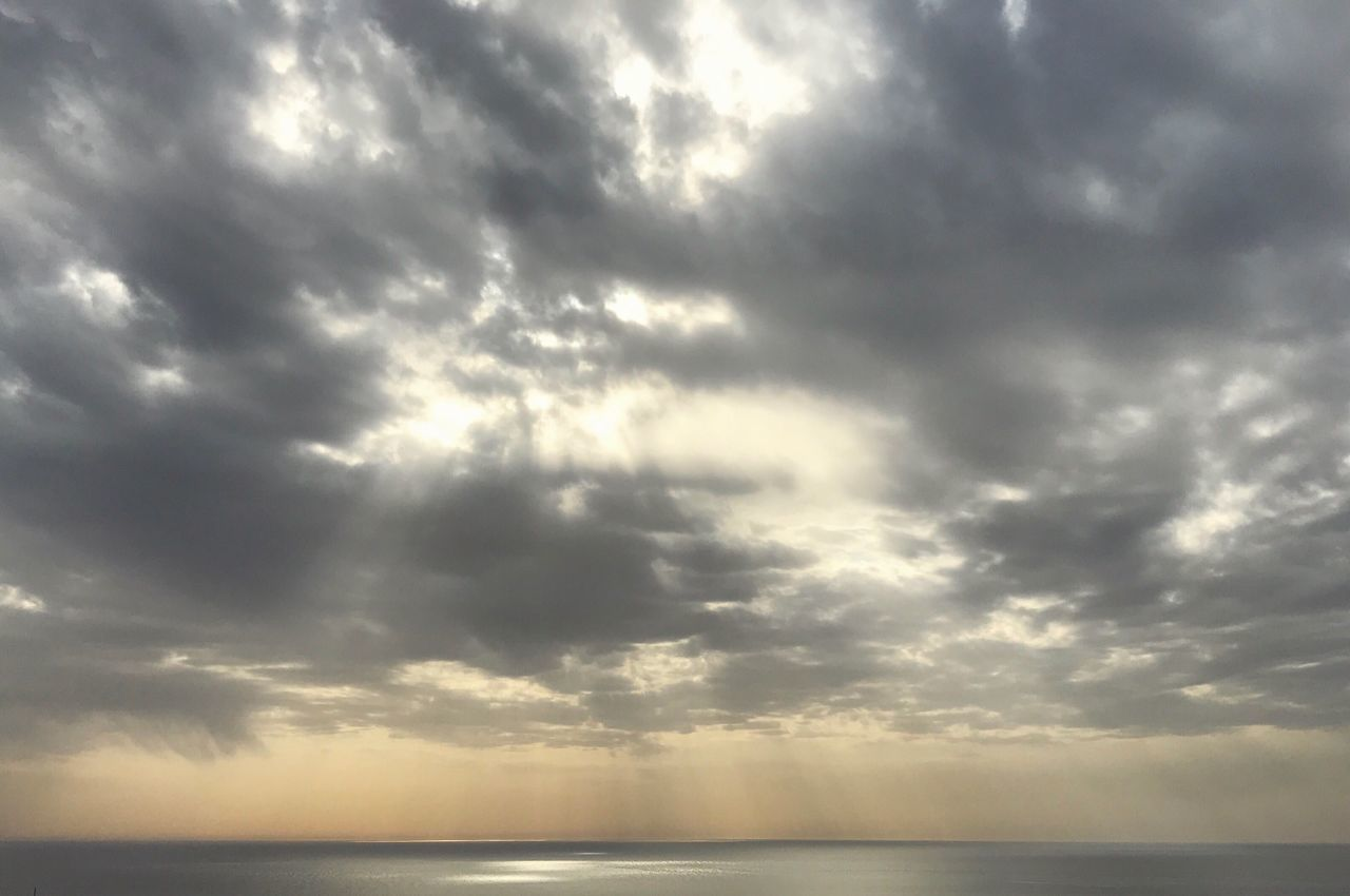 sea, beauty in nature, nature, scenics, tranquility, water, tranquil scene, horizon over water, sky, no people, cloud - sky, storm cloud, day, outdoors