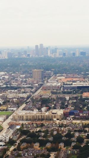 Bird's Eye View Photography Houston, TX Downtown Houston City Life Cityscapes Lookdown