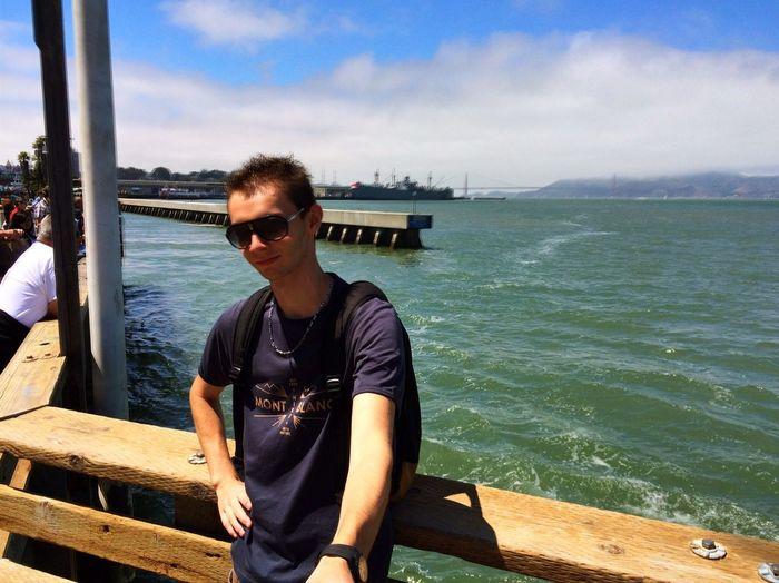 Golden Gate Bridge San Francisco Selfie