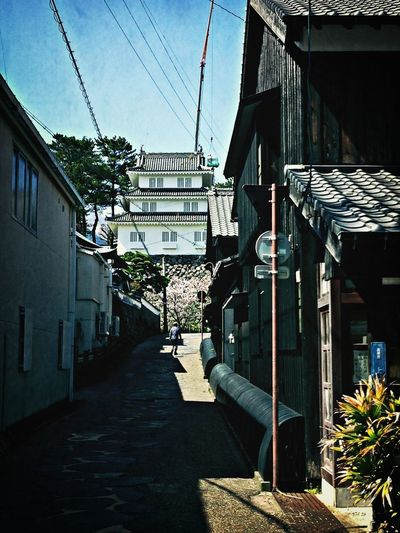 """Japan Introducing Culture Of Japan Which Must Be Left To The Future……  """"未来に残す日本の文化"""" 裏路地 Shimabara"""