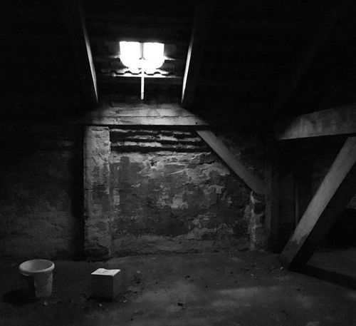 Attic Abandoned What Remains  Old Buildings Window Light The Secret Spaces