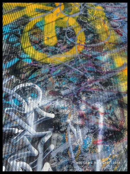 Multi Colored Full Frame Backgrounds No People Close-up Outdoors Day Architecture Streetart/graffiti