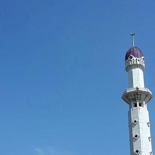 Mosque Tower EastJakarta Ramadan  Islamic Architecture Sky_collection Attin JakartaStreet Attin Minimalist
