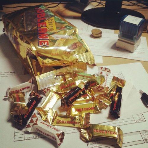 Toblerone oheni :*