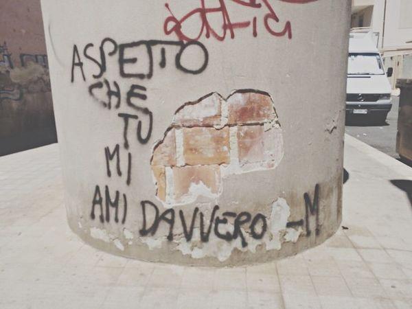 """Aspetto che tu mi ami davvero."" IPhone That's Me First Eyeem Photo Photography Bellescritte Evabbè  Fanculo Ciao"