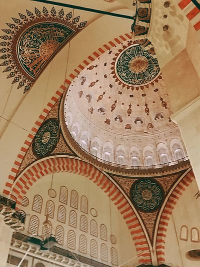 Istanbul Türkiye Kutuphane Beyazıt 멋있지 국립도서관 전통문양 Temizlik
