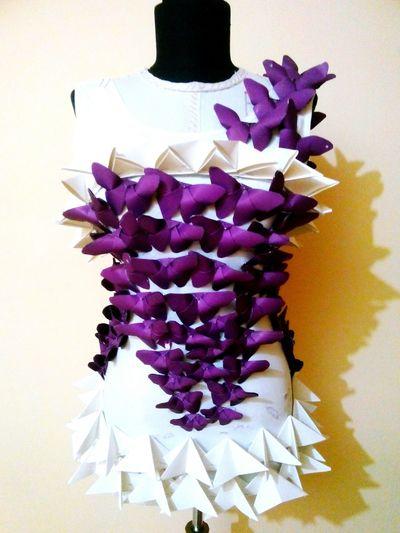 Origami OrigamiFashion Design FashionDesigner Fashion Fashiondesign Tasarım Kelebek Moda Modatasarımı