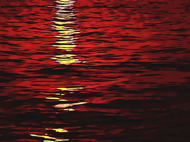 Usmforyou Water Waterfront Rippled Reflection No People Backgrounds Beauty In Nature Sunset