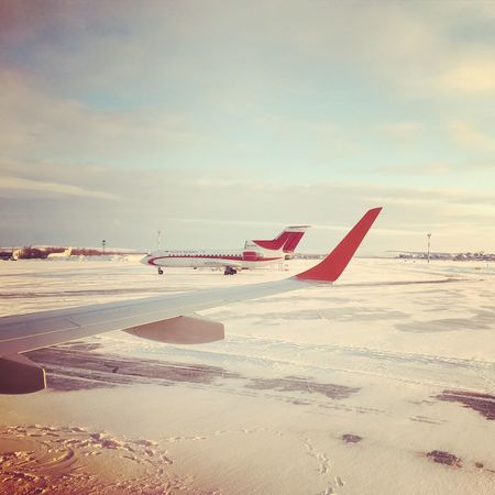 ....ready for take off! Flying TakeOff Saratov Russia Airport Airplane Traveling Photography Wintertime Viaggio