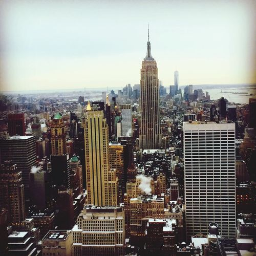Someday I hope to return and call this home Empire State Building Skyscraper New York First Eyeem Photo